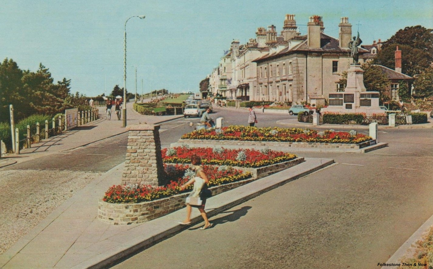 Folkestonethe leas close to the same view but on the left it was the 60s and on the right 2017 you will notice with those high dark flats behind it you can barely make solutioingenieria Gallery